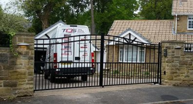Wrought Iron Gate Installation